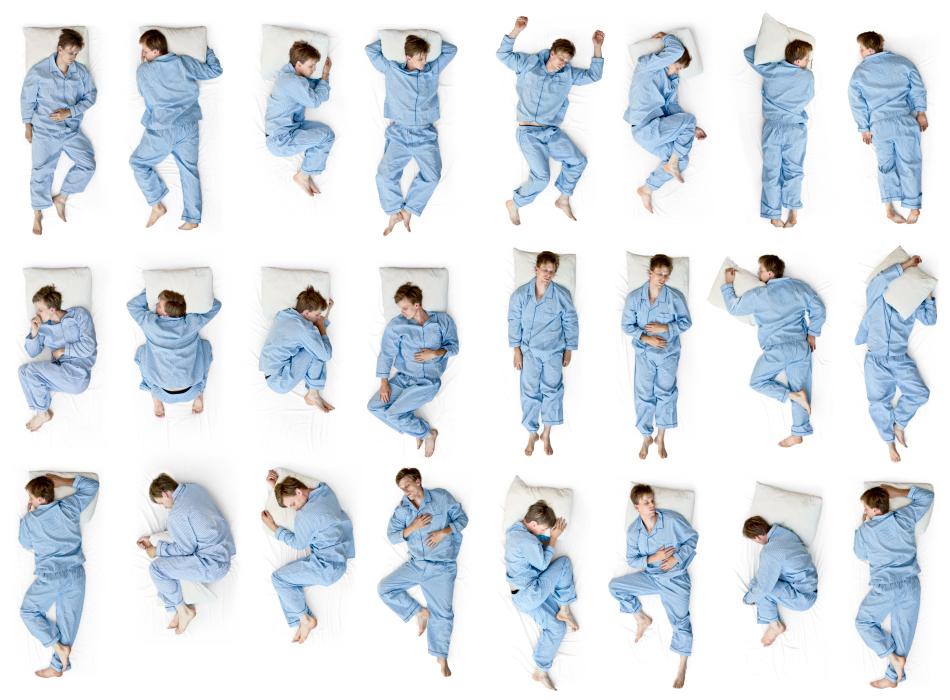 Sleeping positions: which one is yours?